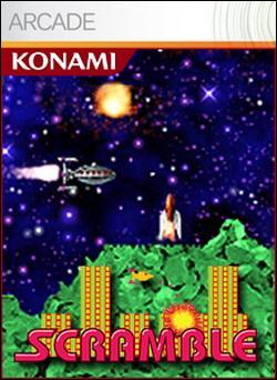 Scramble (Xbox 360 Arcade) by Konami Box Art
