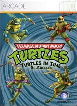 TMNT: Turtles in Time Re-Shelled (Xbox 360 Arcade) by Ubi Soft Entertainment Box Art