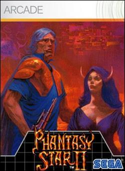 Phantasy Star II (Xbox 360 Arcade) by Sega Box Art