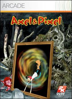 Axel and Pixel (Xbox 360 Arcade) by Microsoft Box Art