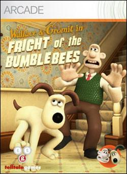 Wallace & Gromit #1: Fright of the Bumblebees (Xbox 360 Arcade) by Microsoft Box Art