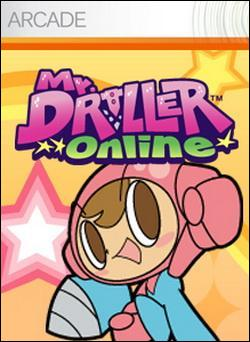 Mr. Driller Online (Xbox 360 Arcade) by Namco Bandai Box Art