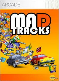 Mad Tracks (Xbox 360 Arcade) by Microsoft Box Art