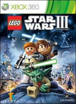 LEGO Star Wars III: The Clone Wars (Xbox 360) by LucasArts Box Art