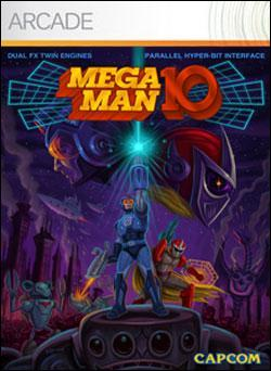 Mega Man 10 (Xbox 360 Arcade) by Microsoft Box Art