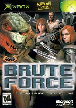 Brute Force Box art