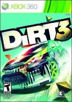 DiRT 3 (Xbox 360) by Codemasters Box Art