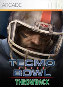 Tecmo Bowl Throwback Box art