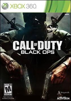 Call of Duty: Black Ops (Xbox 360) by Activision Box Art