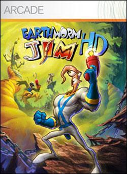 Earthworm Jim HD Box art