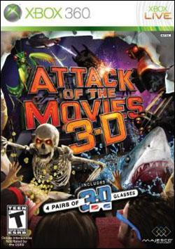 Attack of the Movies 3D (Xbox 360) by Majesco Box Art
