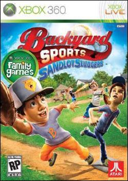 Backyard Sports: Sandlot Sluggers (Xbox 360) by Atari Box Art