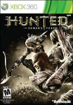 Hunted: The Demon's Forge  (Xbox 360) by Bethesda Softworks Box Art