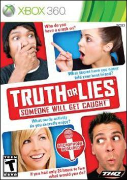 Truth or Lies (Xbox 360) by THQ Box Art