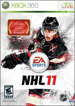 NHL 11 (Xbox 360) by Electronic Arts Box Art