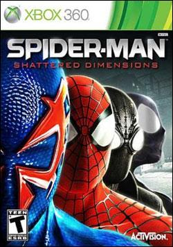 Spider-Man Shattered Dimensions (Xbox 360) by Activision Box Art