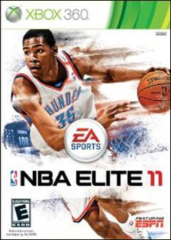 NBA Elite 11 (Xbox 360) by Electronic Arts Box Art