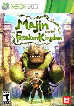 Majin and The Forsaken Kingdom Box art