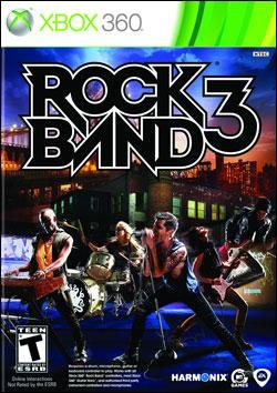 Rock Band 3 (Xbox 360) by Electronic Arts Box Art