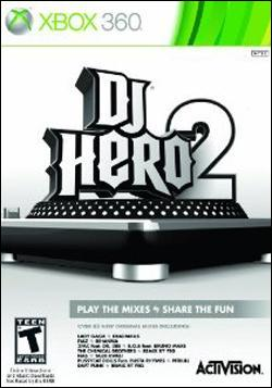 DJ Hero 2 (Xbox 360) by Activision Box Art