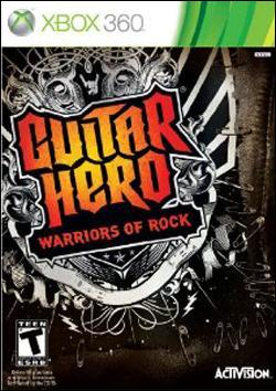 Guitar Hero: Warriors of Rock (Xbox 360) by Activision Box Art