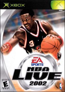 NBA Live 2002 Box art