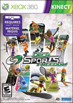 Deca Sports Freedom   (Xbox 360) by Konami Box Art