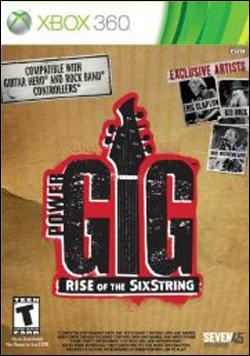 Power Gig: Rise of the Six String (Xbox 360) by Microsoft Box Art