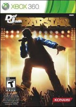 Def Jam Rapstar (Xbox 360) by Konami Box Art