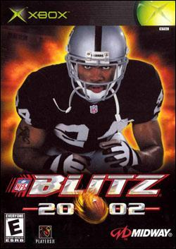 NFL Blitz 2002 Box art