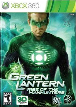 Green Lantern: Rise of the Manhunters (Xbox 360) by Warner Bros. Interactive Box Art