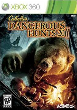 Cabela's Dangerous Hunts 11 (Xbox 360) by Activision Box Art