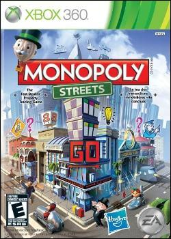 Monopoly Streets (Xbox 360) by Electronic Arts Box Art
