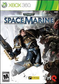 Warhammer 40,000: Space Marine (Xbox 360) by THQ Box Art