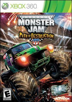 Monster Jam: Path of Destruction (Xbox 360) by Activision Box Art