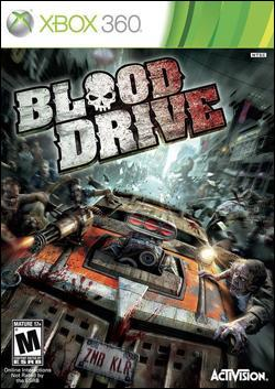 Blood Drive (Xbox 360) by Activision Box Art