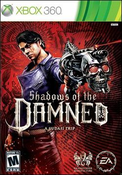 Shadows Of The Damned (Xbox 360) by Electronic Arts Box Art