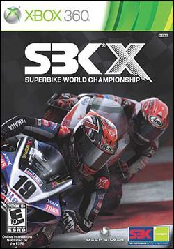 SBK X: Superbike World Championship Box art