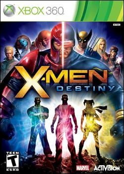 X-Men Destiny  (Xbox 360) by Activision Box Art