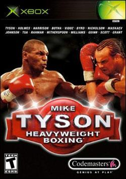 Mike Tyson Heavyweight Boxing (Xbox) by Codemasters Box Art