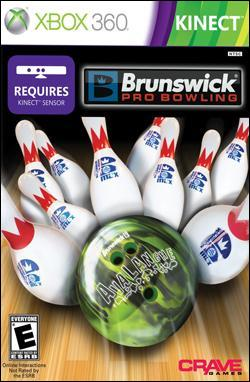 Brunswick Pro Bowling (Xbox 360) by Crave Entertainment Box Art