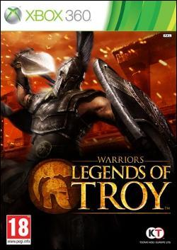 Warriors: Legends of Troy (Xbox 360) by KOEI Corporation Box Art