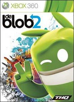 De Blob 2 (Xbox 360) by THQ Box Art