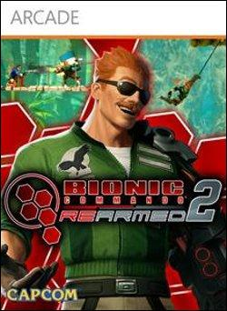 Bionic Commando Rearmed 2 (Xbox 360 Arcade) by Capcom Box Art
