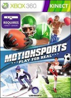 Motion Sports (Xbox 360) by Microsoft Box Art
