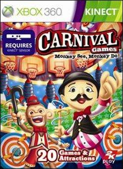 Carnival Games: Monkey See, Monkey Do  (Xbox 360) by Microsoft Box Art