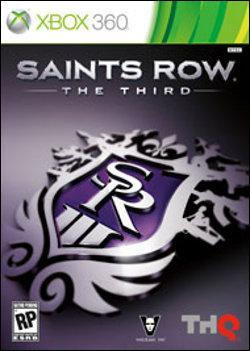 Saints Row: The Third  (Xbox 360) by Microsoft Box Art