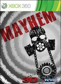 Mayhem 3D (Xbox 360) by Microsoft Box Art