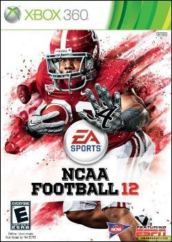 NCAA Football 12 (Xbox 360) by Electronic Arts Box Art