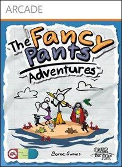 The Fancy Pants Adventures  (Xbox 360 Arcade) by Microsoft Box Art